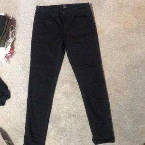 Just Black stretchy black pants